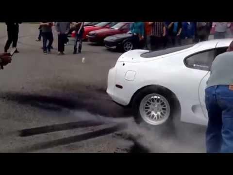 800 Hp'lik Canavar Toyota Supra