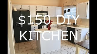 Video DIY Faux Granite Countertops and Painted Cabinets $150 TOTAL!! MP3, 3GP, MP4, WEBM, AVI, FLV Juli 2019
