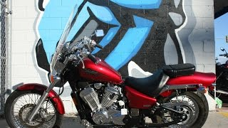 10. 2007 Honda Shadow 600 Motorcycle For Sale...ONLY 7580 miles !!
