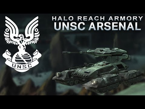 Halo Reach Armory: UNSC Weapons & Vehicles – Halo Reach Primer Series