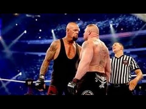 WWE WRESTLEMANIA 30 UNDERTAKER VS BROCK LESNAR EN ENTIER EN FRANÇAIS