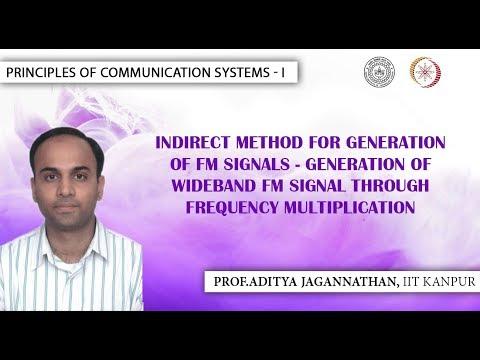 Lec 31   Principles of Communication   FM Generation: Frequency Multiplication Method   IIT Kanpur (видео)