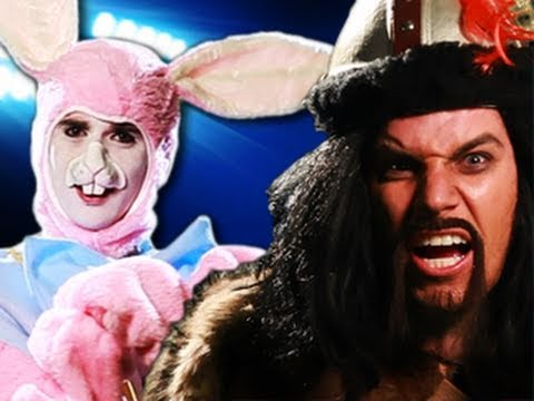 Genghis Khan vs Easter Bunny.  Epic Rap Battles of History #8