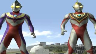 Video Ultraman Tiga & Gaia v2 - TAG Team Mode ★Play ウルトラマン FE3 MP3, 3GP, MP4, WEBM, AVI, FLV Januari 2019