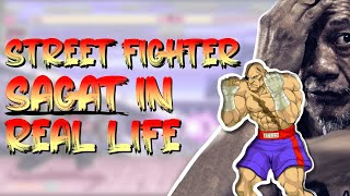 Street Fighter Sagat In Real Life: Muay Thai Icon Tribute