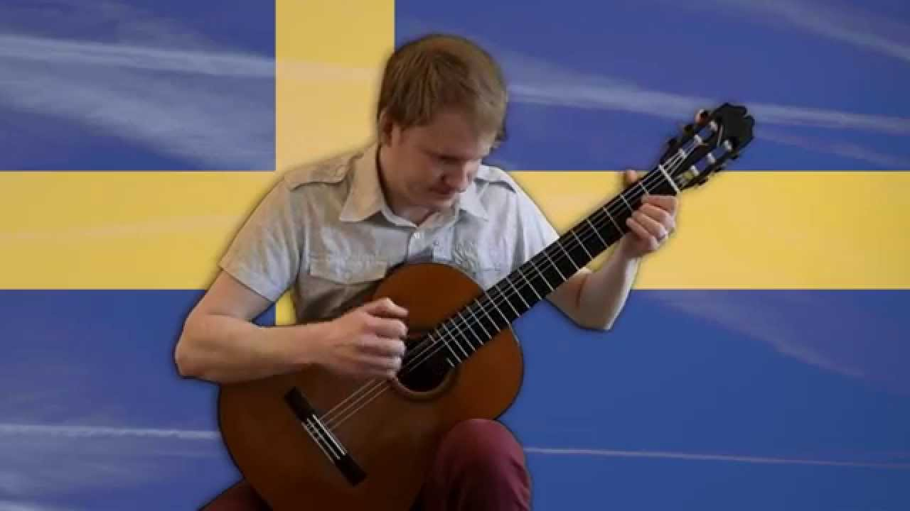 Minecraft Theme – Sweden (Calm 3, C418, Acoustic Classical Fingerstyle Guitar Tabs Cover)