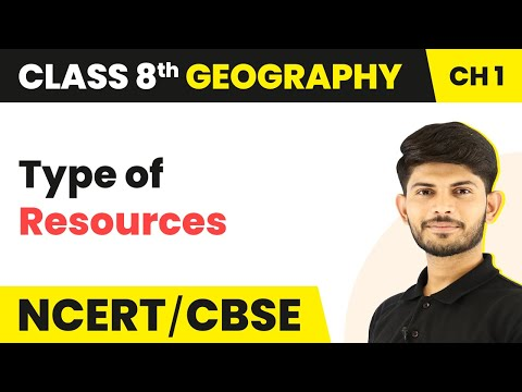 Types of Resources   Geography   Class 8th    Magnet Brains