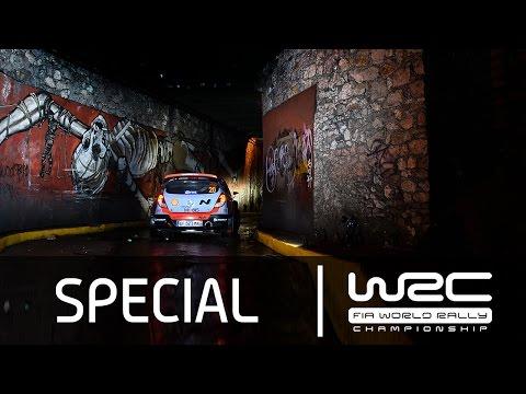 Video SS1 participación Neuville  Hyundai WRC Rallye México 2015