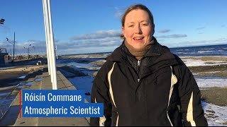 Atmospheric scientist Róisín Commane and Principal Investigator Steven Wofsy both of Harvard University sent back a video postcard from the Atlantic legs of ...