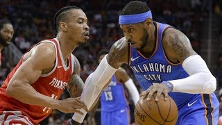 Thunder Defeat Rockets to Stay in Playoff Race! 2017-18 Season