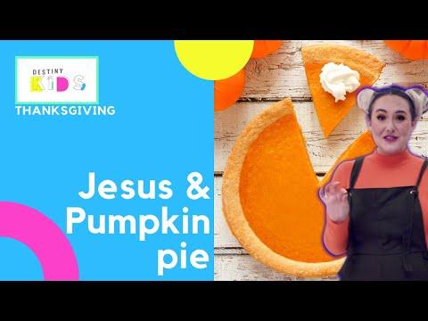 HAPPY THANKSGIVING!!!   Jesus & Pumpkin pie; what an amazing duo!   Destiny Kids Tv