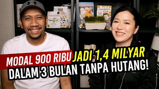 Download Video MODAL 900 ribu JADI 1,4 MILYAR  DALAM 3 BULAN TANPA HUTANG | Arli Kurnia | Christina Lie 101Red MP3 3GP MP4