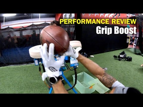 GRIP BOOST Pro Elite Football Gloves: Performance Review