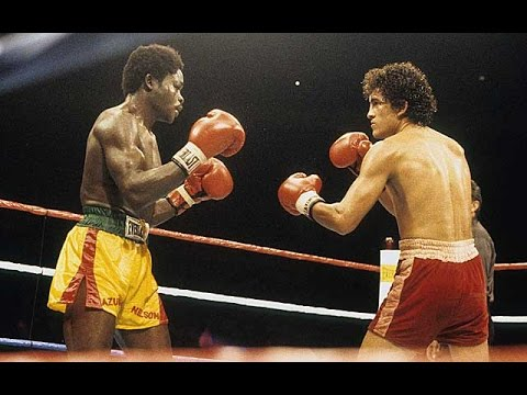 Salvador Sanchez vs Azumah Nelson (Highlights)