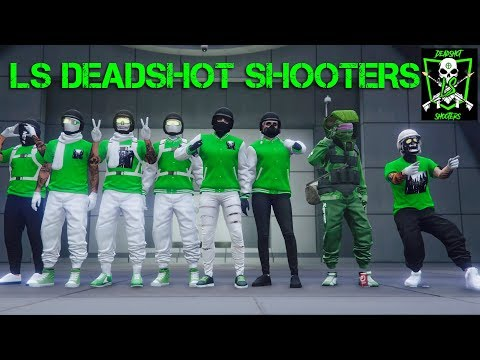 (GTA ONLINE) R.I.P SGTE, DSGT, OPPZ, LOWX, & HUNT | INTRODUCING THE LS DeadShot Shooters(SHOT) CREW!