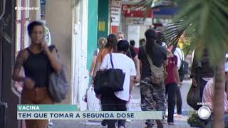 Governo de São Paulo alerta sobre importância de segunda dose da vacina