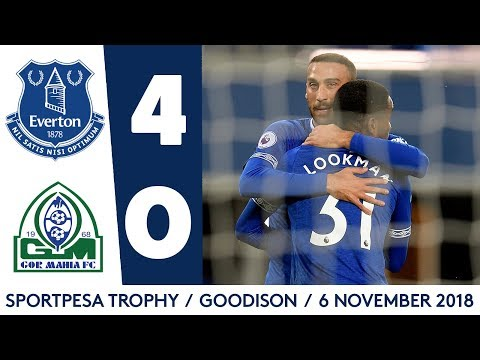 Video: ALL THE GOALS: EVERTON 4-0 GOR MAHIA | LOOKMAN, DOWELL, BROADHEAD, NIASSE