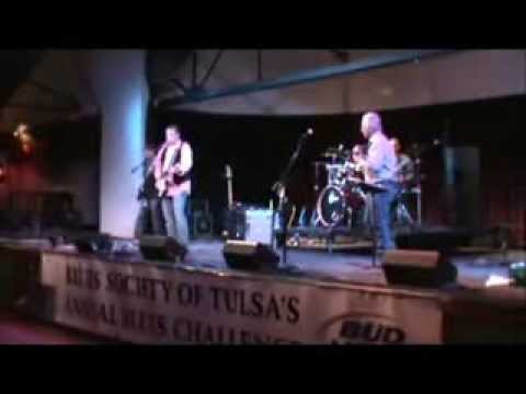 James Groves Blues Machine at the Tulsa Blues Challenge 2013