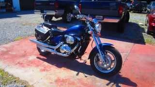 2. 2004 SUZUKI MARAUDER VZ800 805cc V-Twin Motorcycle - LEXINGTON, KY