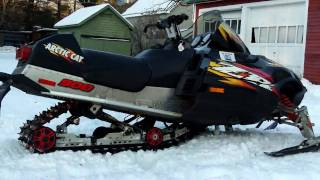 6. Arctic Cat ZR 900    FireCat F7   ZR 600