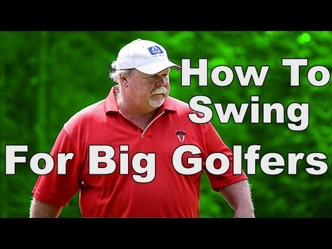 Golf Swing For BIG Golfers: Craig Stadler Analysis