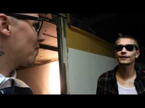 Professor Green - DJ IQ Interviews Some Twins... (Video Diary)