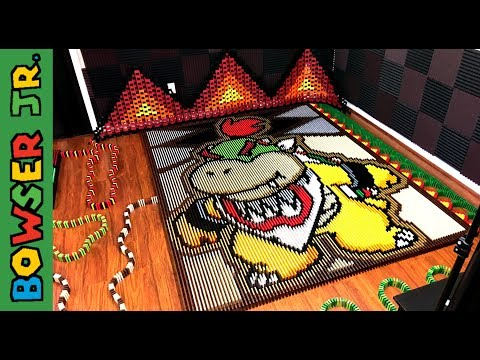 Bowser Jr in 23 400 Dominoes