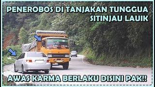 Video Aksi Sang Penerobos di Tanjakan Tunggua Sitinjau Lauik, Awas Karma Berlaku Disini Pak!! MP3, 3GP, MP4, WEBM, AVI, FLV April 2019