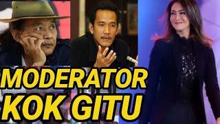 Kompak Sudjiwo T N Rafli H Kr Tik Moderator Debat Capres Cawapres 2019 Ira Koesno Prabowo Jokowi San