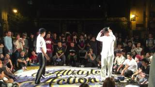 Fire Bac vs Bobby – MACAU ALLSTYLE ACTION 2016 Popping 1on1 Final