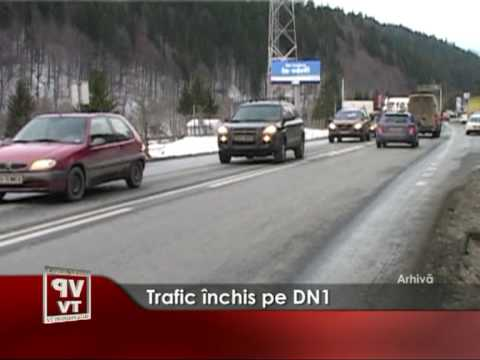 Trafic închis pe DN1