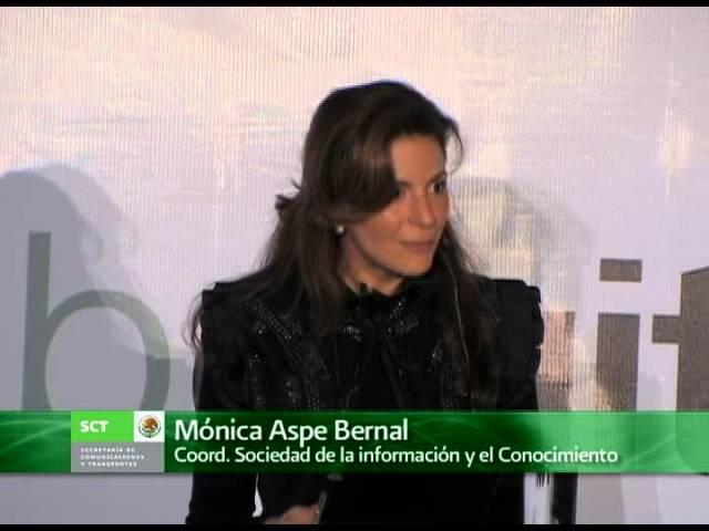 Discurso de la Mtra. Mónica Aspe Bernal