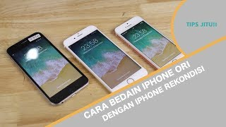 Video Tips JITU Bedain iPhone ORI vs iPhone Rekondisi MP3, 3GP, MP4, WEBM, AVI, FLV Desember 2018