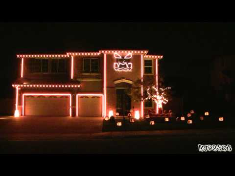Halloween Light Show 2011 - This Is Halloween      - YouTube