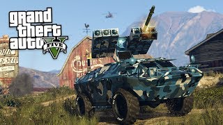 "GTA 5 NEW DLC ""GTA Online: Gunrunning Update"" showcase showing all of the new GTA 5 Gun Running cars, bunkers, ..."