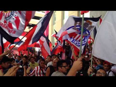 La hinchada popular de chivas 19-abril-2014 - La Irreverente - Chivas Guadalajara