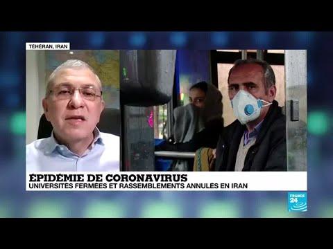 Coronavirus en Iran : le gouvernement adopte [un peu tard] les mêmes mesures de sécurité que la Chine