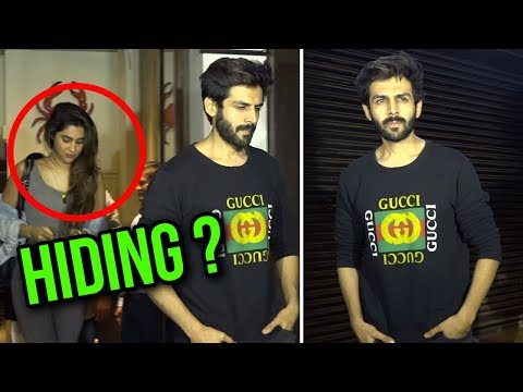 Kartik Aryan CAUGHT With Girlfriend At Bastian