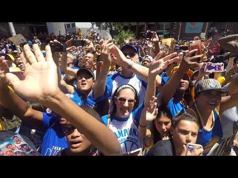 Warriors Victory Parade