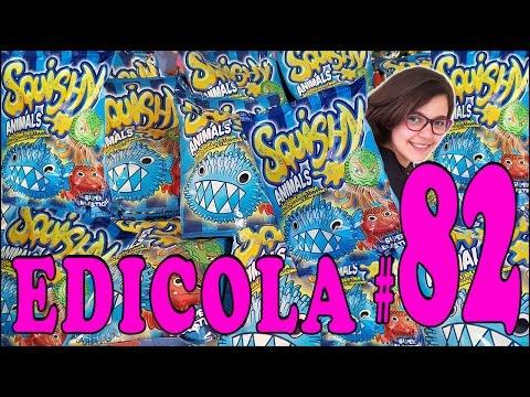 EDICOLA #82: SQUISHY ANIMALS - Pacco con 12 bustine (Unboxing by Giulia Guerra) (видео)