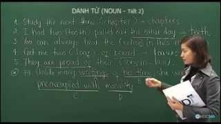 Bài 4: Danh từ (Tiết 2)