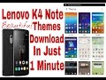 Lenovo k4 Note Beautiful Themes Download Easy Steps waptubes