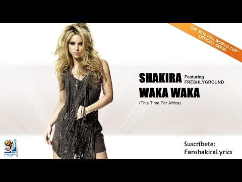 Shakira - Waka Waka (This Time For Africa) [Lyrics]