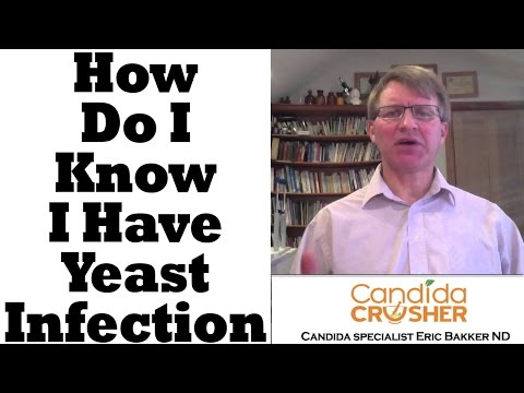how to know yeast infection
