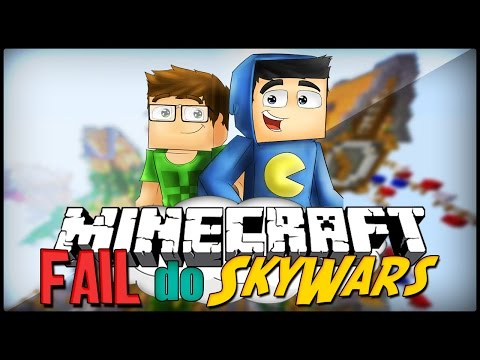 Minecraft: FAILS DO SKYWARS!