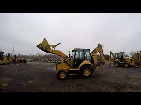 CATERPILLAR BAGGERLADER 420FST equipment video WAfptIX6u-U