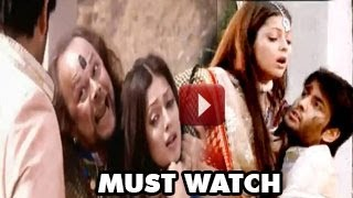 Madhubala&RK HURT while FIGHTING Balraj in Madhubala Ek Ishq Ek Junoon 24th January 2013