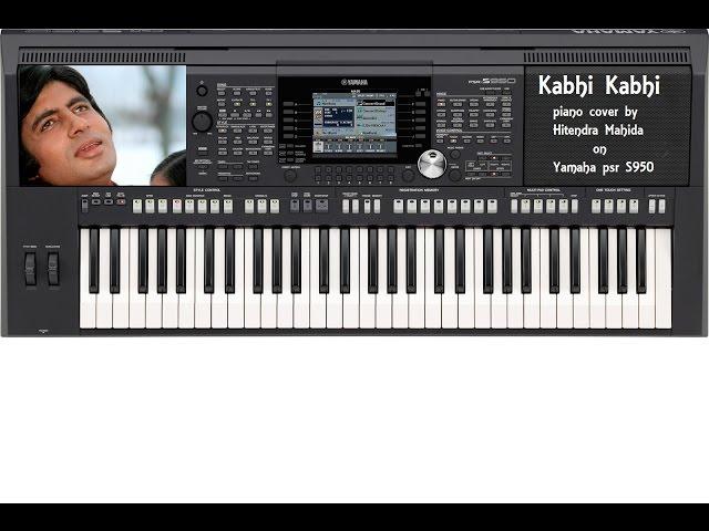 Kabhi Kabhi Piano Keyboard Cover Hitendra Mahida ...