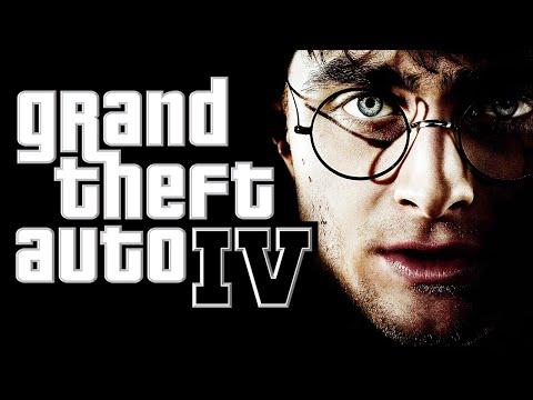 GTA 4 - Harry Potter and the Zombie Apocalypse (Harry Potter Mod + Zombies Mod) [Funny Moments]