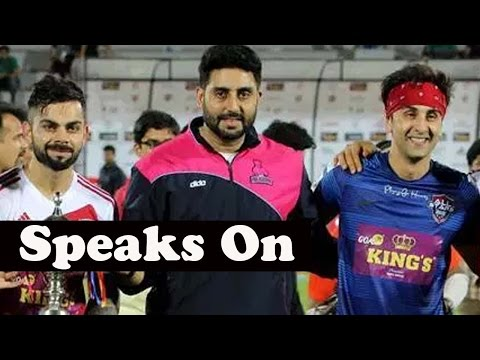 Abhishek Bachchan Speaks On Virat Kohli And Ranbir